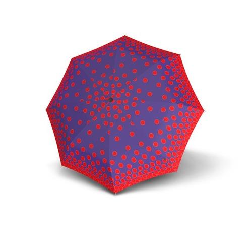 Knirps®德國紅點傘|X1膠囊五折傘-Lily Blue