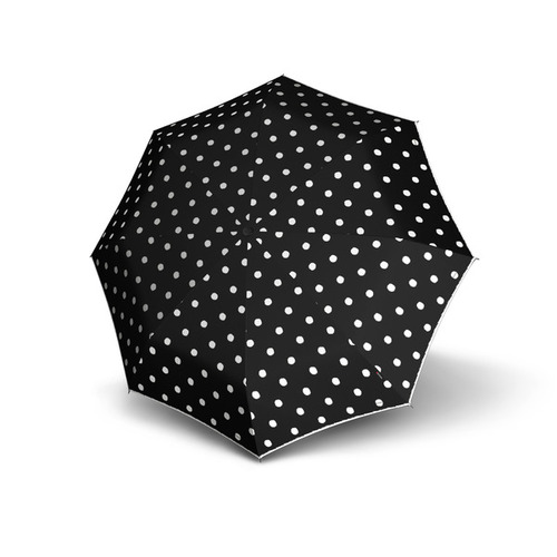 Knirps®德國紅點傘 T.200 自動開收傘- Dot Art Black