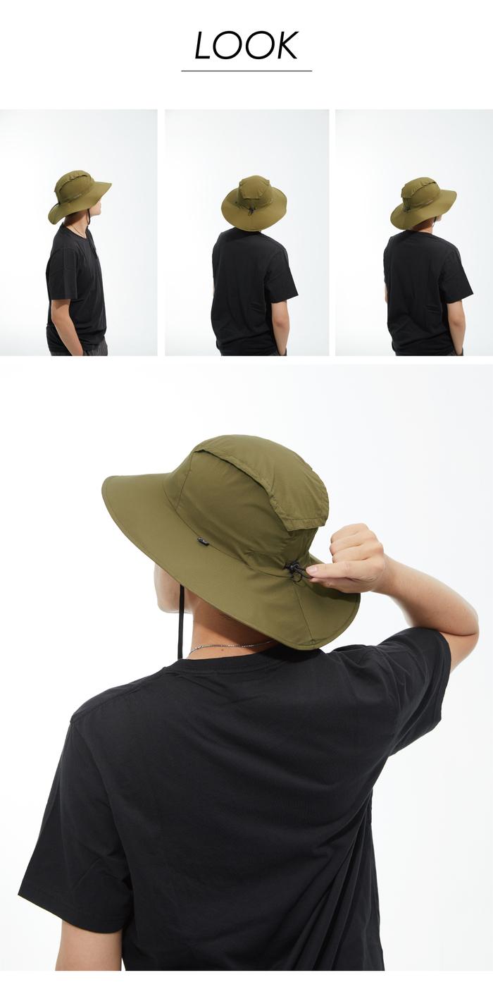MECOVER 防曬遮陽帽 M SIZE(星空黑)
