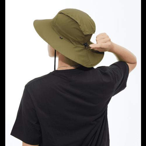 MECOVER|防曬遮陽帽 L SIZE(野戰綠)