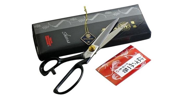 日本Shozaburo庄三郎10吋裁縫剪刀A-240(黑盒)