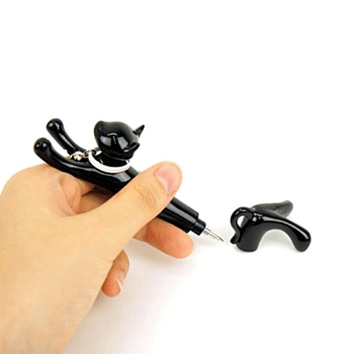 大西賢製販Abeille油性貓造型原子筆920-CP系列