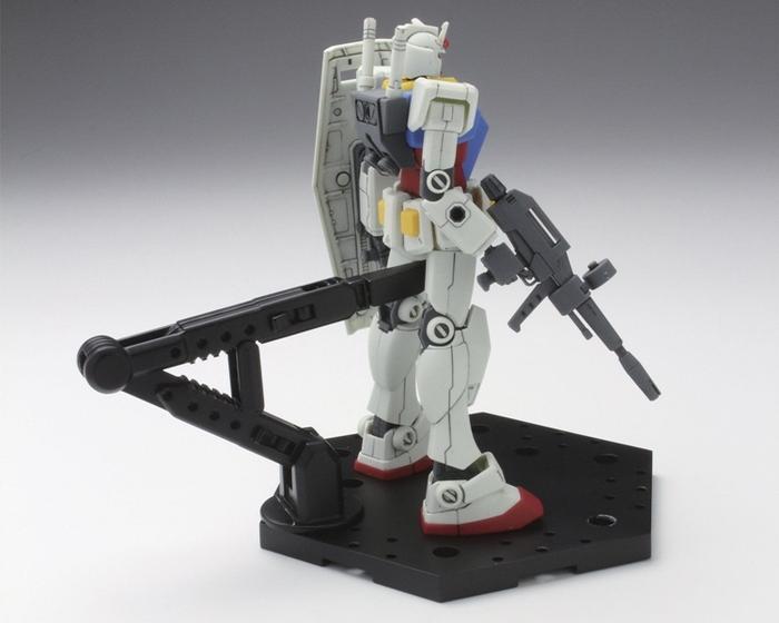 日本BANDAI萬代鋼彈模型展示支架ACTION BASE 5比例1/144