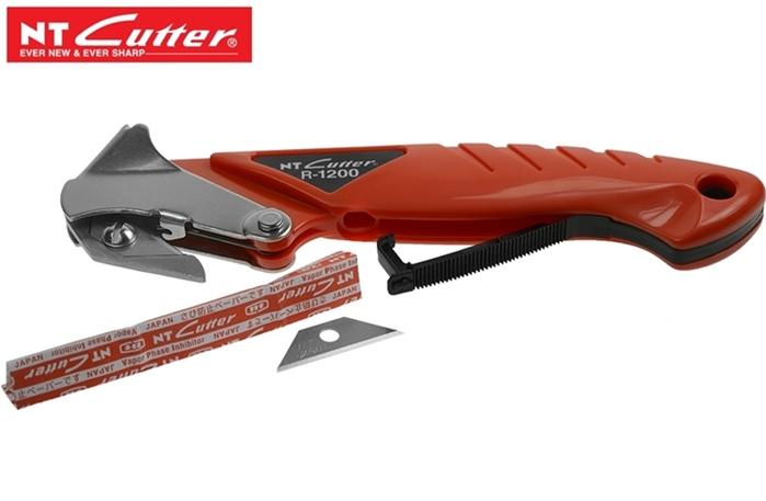 日本NT Cutter拆箱刀R-1200P撬釘器