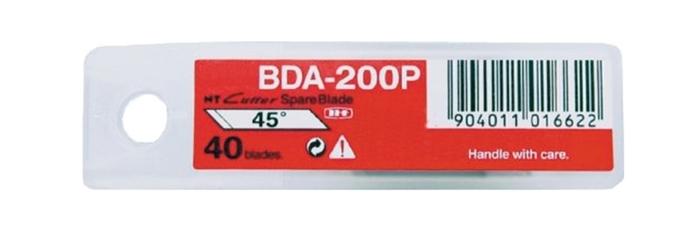 日本NT Cutter筆刀刀片BDA-200P筆刀替刃