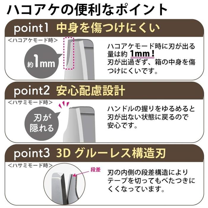 日本KOKUYO開箱機能剪刀P410系列(不沾黏版即材質為不鏽鋼+鈦)