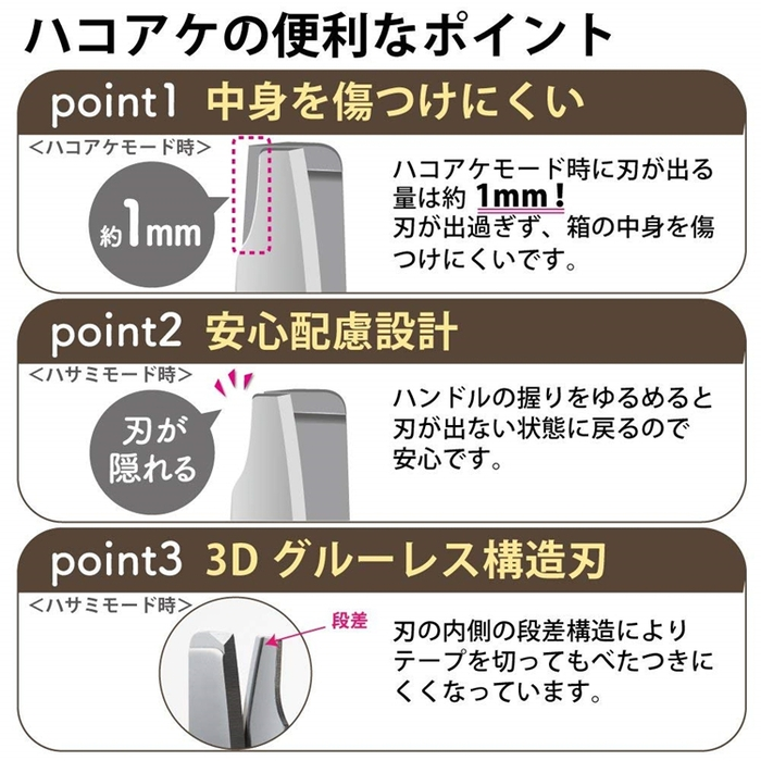 日本KOKUYO開箱機能剪刀P410系列(一般版即材質為不鏽鋼)