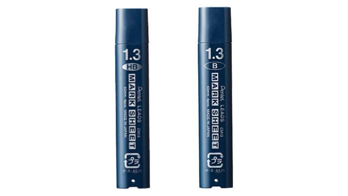 日本Pentel飛龍 粗芯1.3mm自動鉛筆芯CM13-B / CM13-HB
