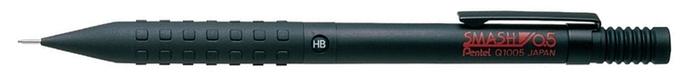日本暢銷Pentel製圖自動鉛筆Q1005-1 (黑) 經典自動筆SMASH飛龍0.5mm鉛筆