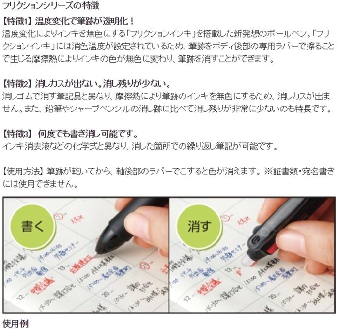 日本San-X角落生物PILOT百樂Frixion魔擦筆(0.5mm)PP2540系列