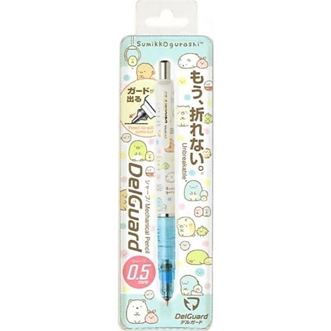 日本限定發售San-X角落生物ZEBRA DelGuard不斷芯自動出芯鉛筆PN08801(筆芯:0.5mm)