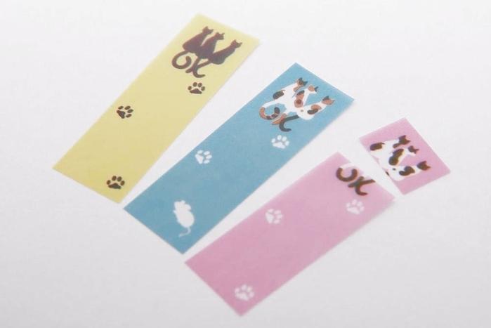 日本SUN-STAR創意貓咪自黏便籤S2805340