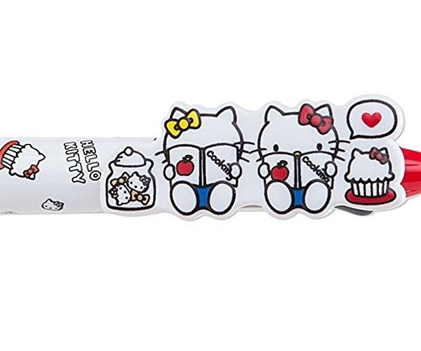 日本PILOT百樂3色魔擦筆Frixion Balll 3擦擦筆原子筆-三麗鷗Hello Kitty凱蒂貓D861 KT