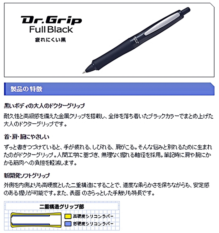 日本PILOT百樂黑天使減壓原子筆BDGFB-80F系列(0.7mm油性)