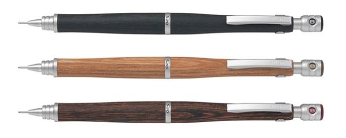日本PILOT百樂木頭自動鉛筆S20-HPS-2SK木紋自動鉛筆