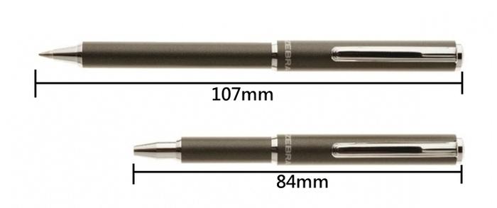 日本ZEBRA迷你斑馬伸縮原子筆BA55系列