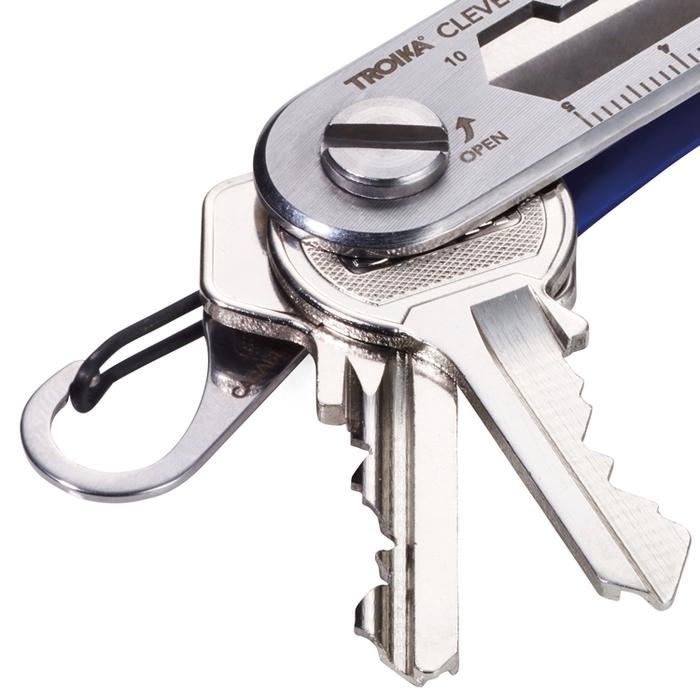 德國TROIKA|高質感CLEVER KEY聰明工具鑰匙圈 (KCL81系列)
