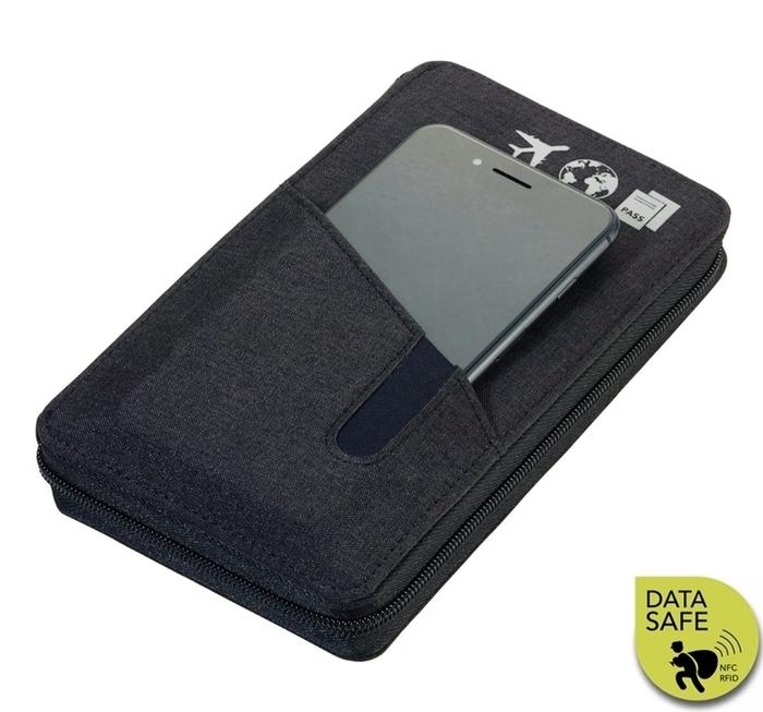 德國TROIKA|防RFID、NFC竊盜防護旅行包 (TRV90/DG)