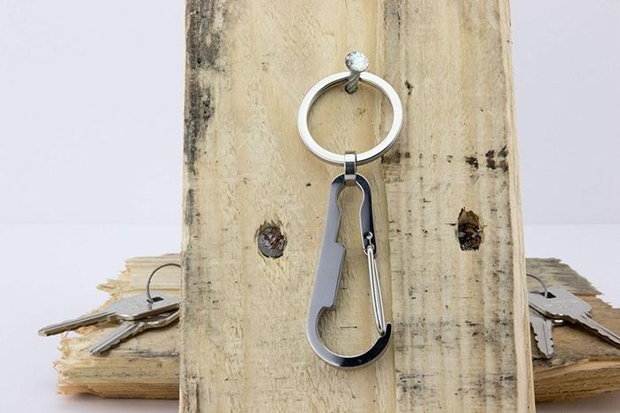 (複製)(複製)德國TROIKA|SIMPLY STEEL掛鉤鑰匙圈 ( KR17-11/ST )