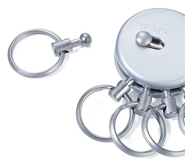 德國TROIKA|專利PATENT快速更換鑰匙圈 ( KYR60/MC )