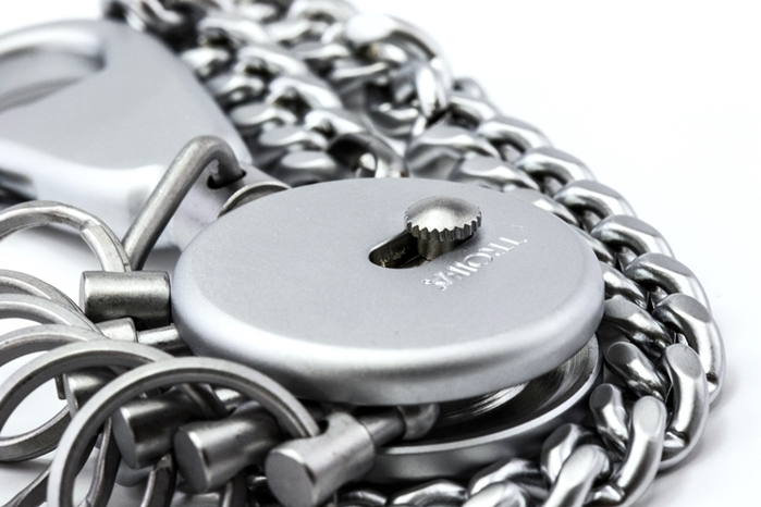 (複製)德國TROIKA|PATENT CHAIN專利長鏈鑰匙圈 ( KR10-60/MA )