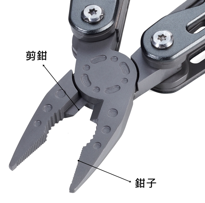 德國TROIKA|MULTI-TOOL多功能戰術工具 ( TOL41/GY )