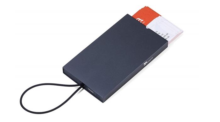 德國TROIKA|防盜信用卡盒防盜卡夾防感應卡夾 ( CCC10 )