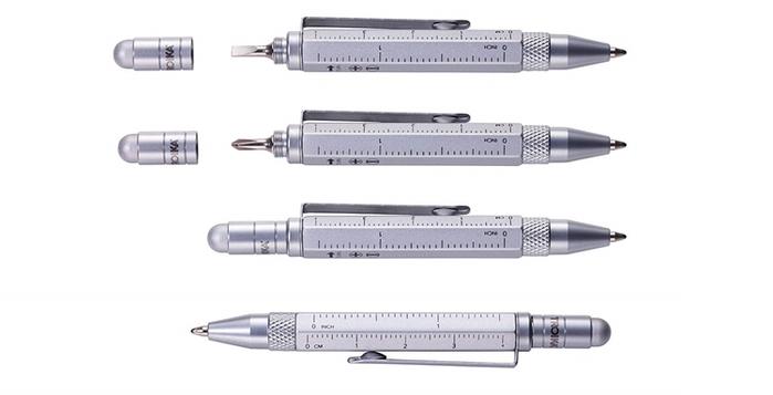 德國TROIKA|短版多功能工具筆 ( PIP25系列 )
