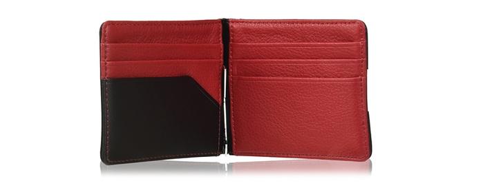 德國TROIKA|撞色皮夾撞色錢包設計款卡夾 ( MYC22/LE )