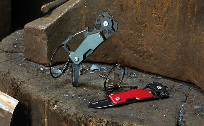 德國TROIKA 十合一鑰匙圈多功能小刀多功能鑰匙圈 ( KTL25 )