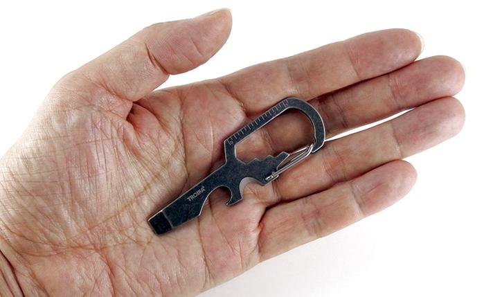 (複製)德國TROIKA|福斯金龜車吊飾LED手電筒鑰匙圈 ( KR16-40-CH )