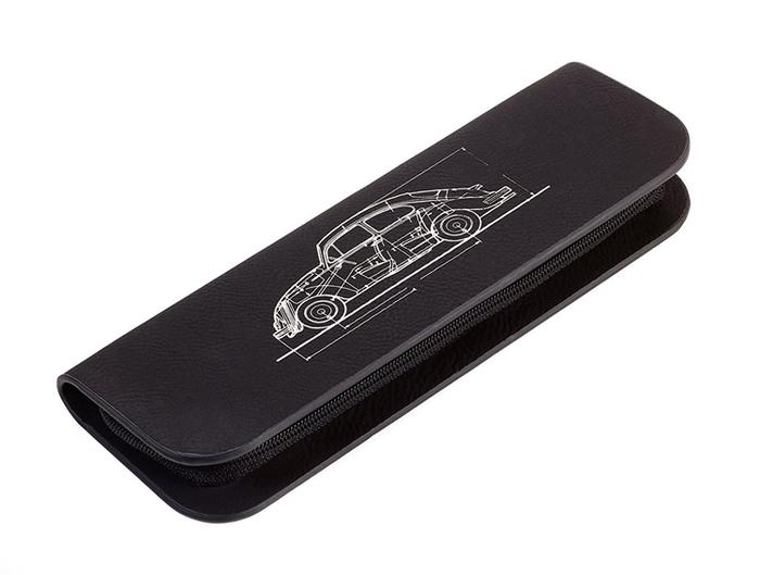 德國TROIKA|福斯經典金龜車工程筆工具筆鉛筆盒麵包車鉛筆盒 ( PEC74-BS / PEC75-BS )