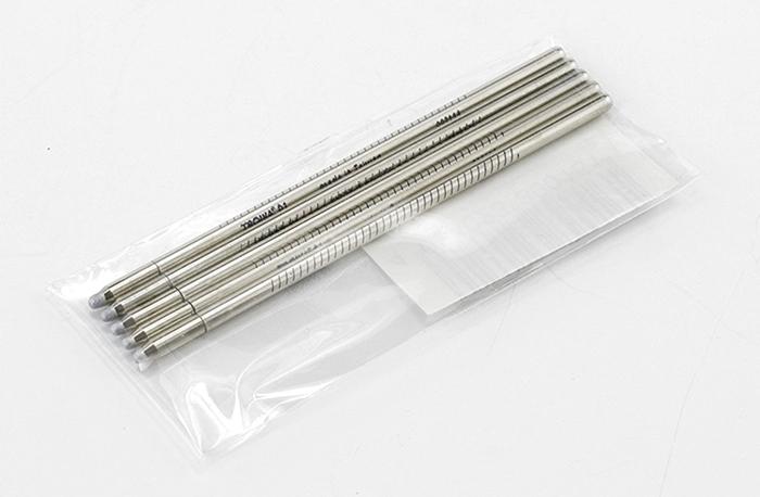 德國TROIKA|多功能工具筆專用筆芯5支裝 ( 黑色99Z120 / 藍色99Z123 )