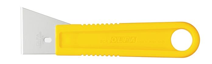 日本OLFA|不鏽鋼刮刀 ( 中:尺寸155mm*43mm ; SCR-M )