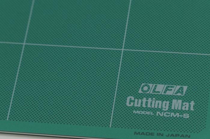 日本OLFA|經典綠裁墊八開切割墊 ( NCM-S )