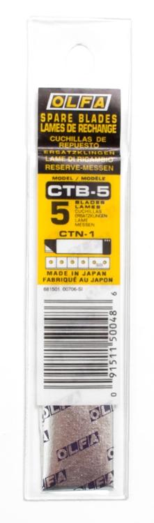 日本OLFA|CTN-1專用開箱刀刀片 ( CTB-5 )