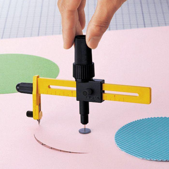 日本OLFA|豪華版切圓器布料割圓器 ( CMP-1/DX )