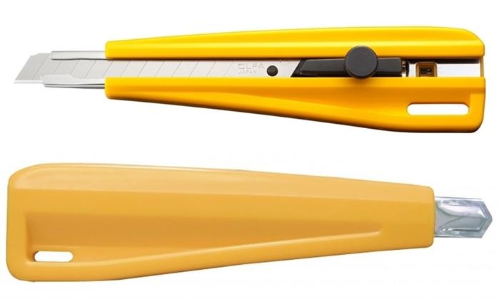 日本OLFA|專業折刃式美工刀 ( 裝配9mm不鏽鋼刀片 ; 300 )