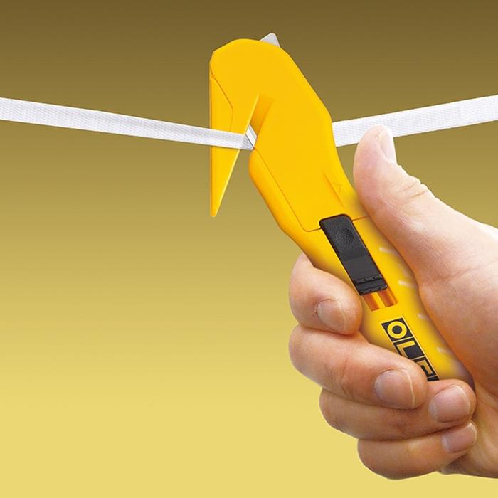 日本OLFA|開箱專用刀包裝繩切斷器拆箱刀 ( SK-10 )