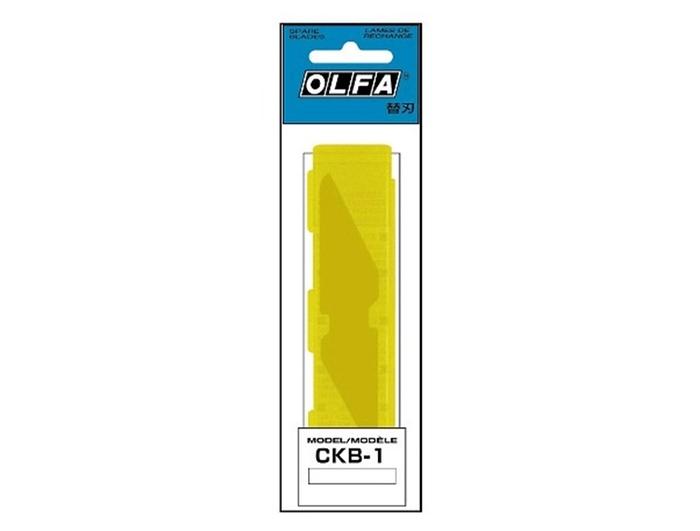 日本OLFA|工藝刀刀片尖尾刀片 ( CK-1專用 ; CKB-1 )