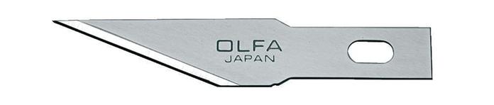 日本OLFA|直線刃刀片筆刀刀片筆刀刀片 ( AK-4專用 ; KB4-S/5 )