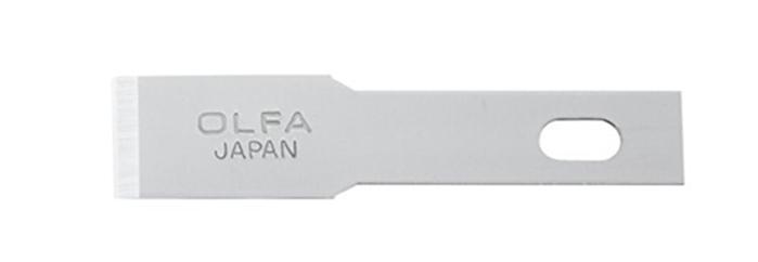 日本OLFA|雕刻筆刀刃 ( 平刃,厚0.55mm ; XB157H )