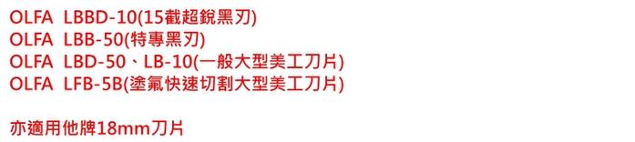 日本OLFA|專業折刃美工刀極致美工刀大型美工刀 ( Ltd-07 )