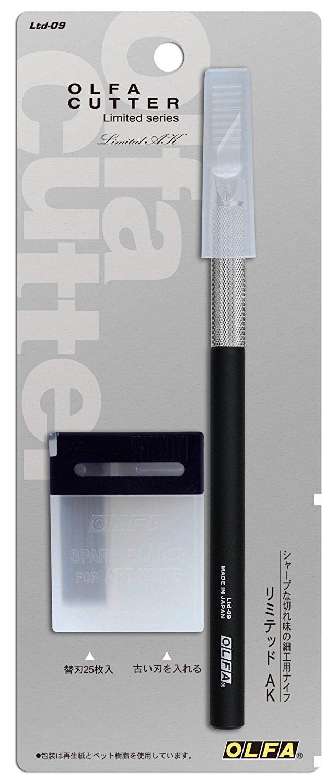 日本OLFA|極致系列專業筆刀雕刻筆刀等距刻線刀 ( Ltd-09 )