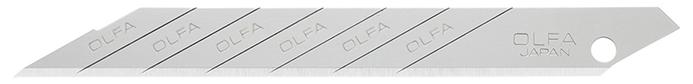 日本OLFA|30度折刃式美工刀片 ( 10枚入 ; XB141 )