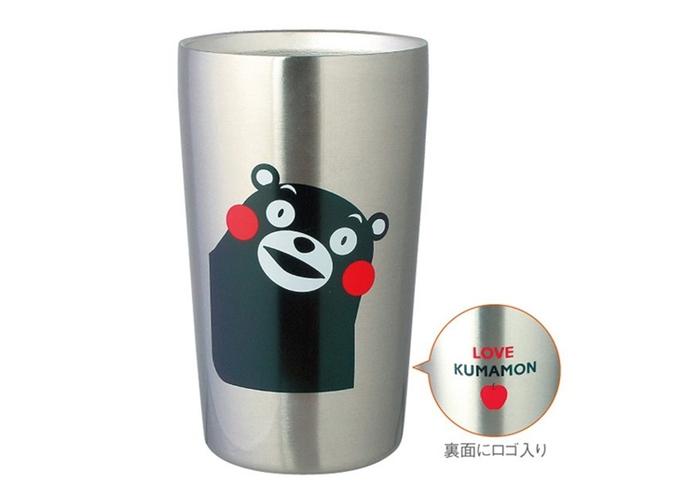 日本KUMAMON|熊本熊真空保溫杯 ( 420ml ; K20193 )