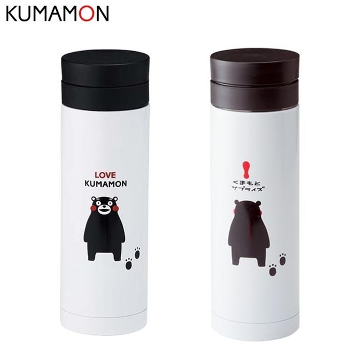 日本KUMAMON|熊本熊不鏽鋼真空斷熱保溫瓶 ( 330ml ; K12919 )