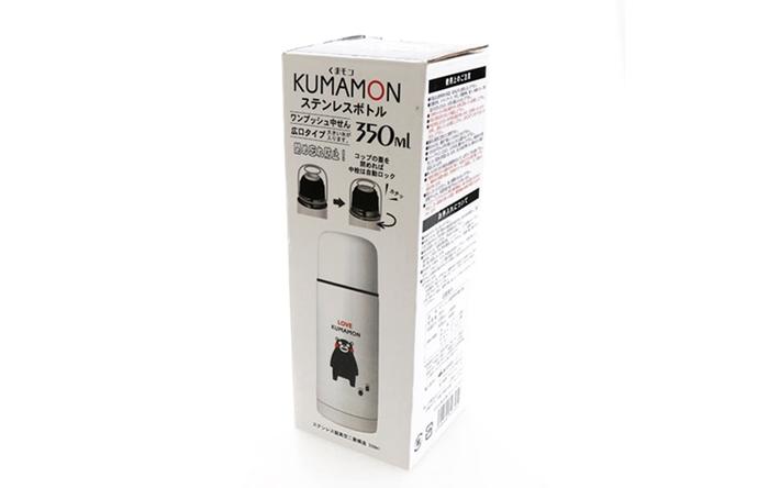 日本KUMAMON|熊本熊真空保溫瓶 ( 350ml ; K12918 )