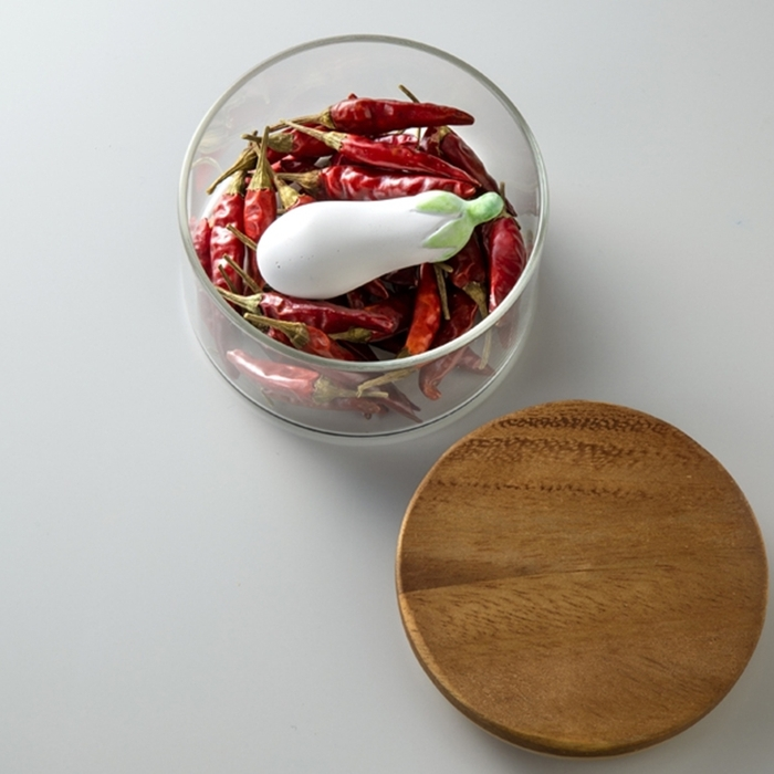 日本Karari 珪藻土防潮乾燥塊 ( 茄子 ; HO1836 )