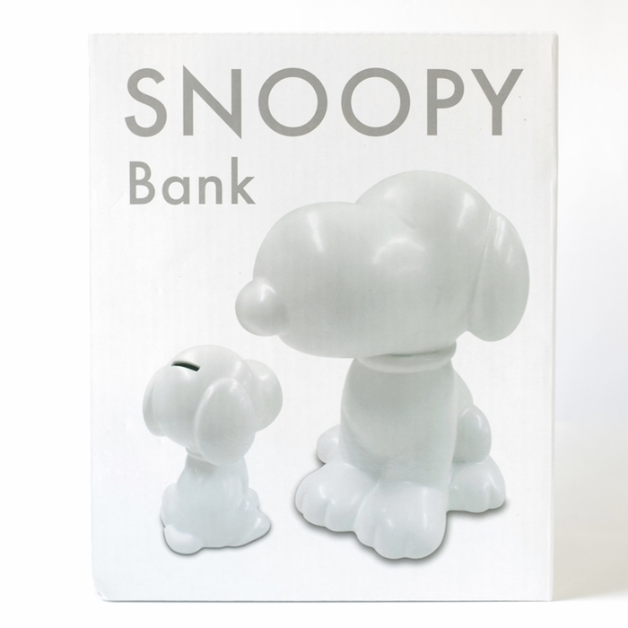 日本MARIMO CRAFT|史努比SNOOPY BANK 大貯金箱存錢筒 ( SPY-416黑色/SPY-417白色 )